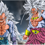 Goku and Vegeta SSJ5 Puzzle
