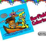 Garfield Coloring