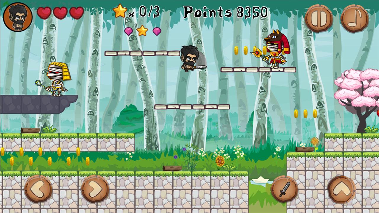 Image Barbarian VS Mummy Game