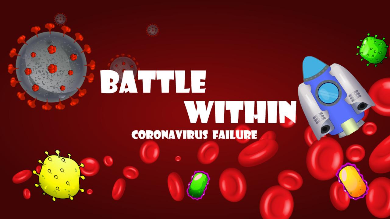 Image Battle Within Coronavirus