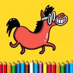 BTS Pony oloring Book