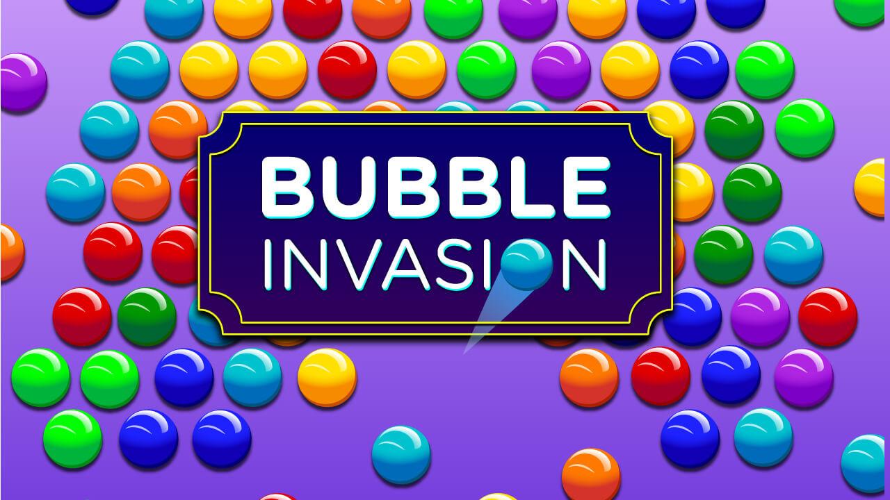 Image Bubble Invasion