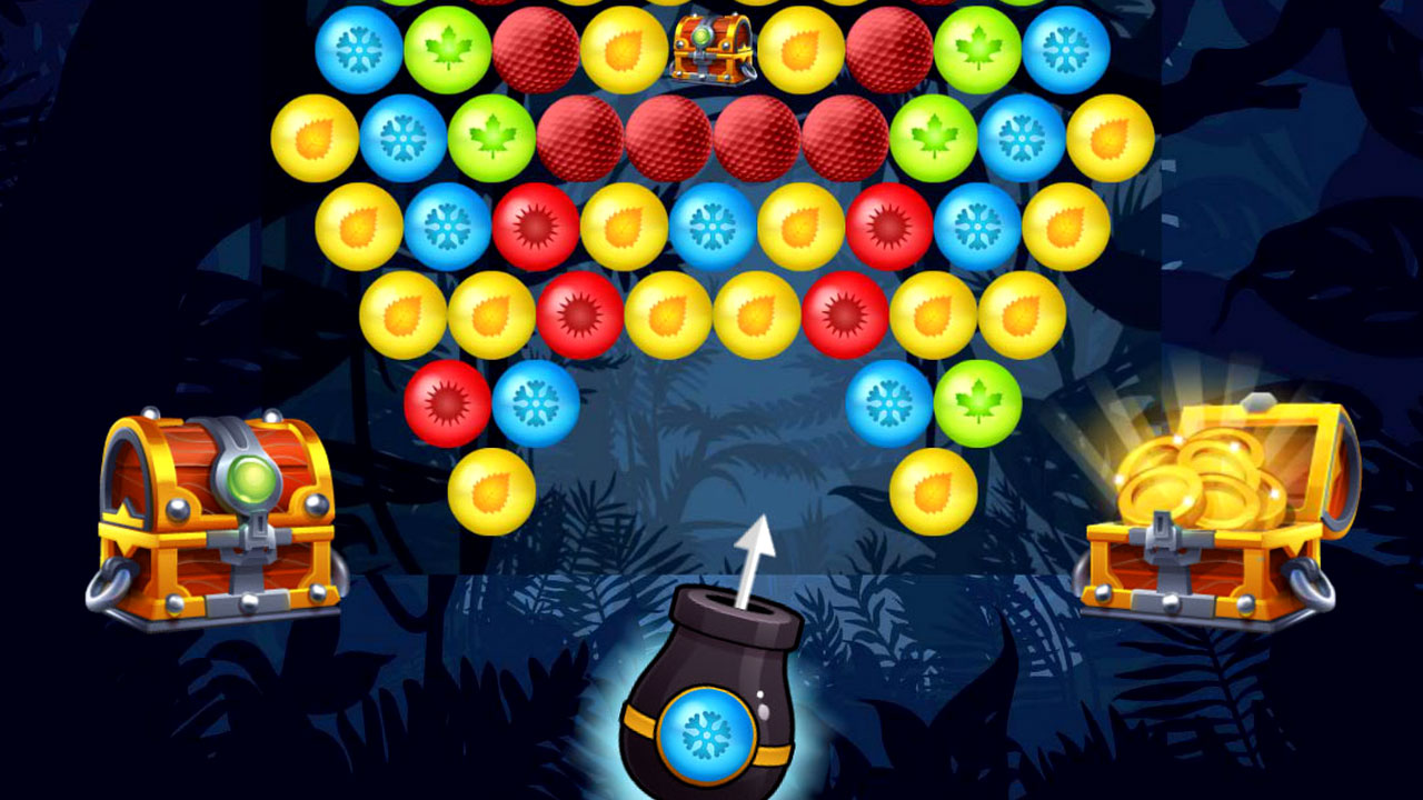 Image Bubble Shooter Golden Chests