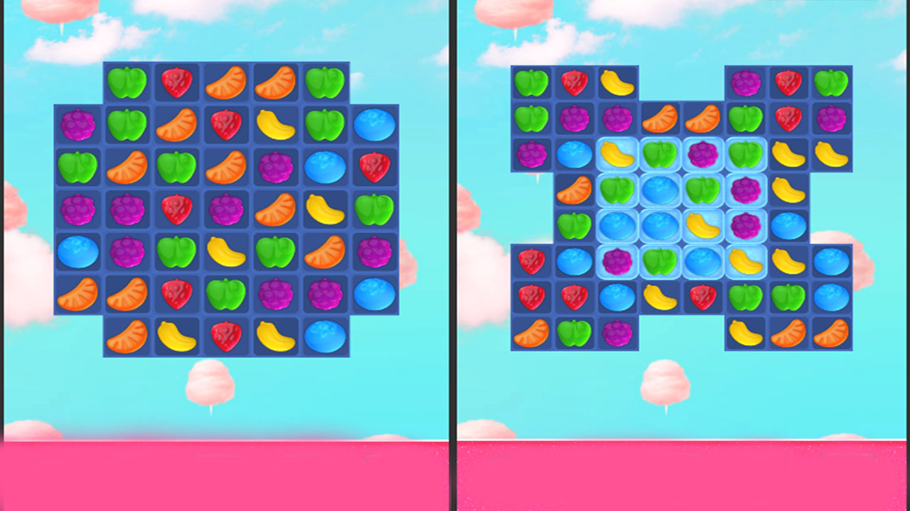 Image Candy Land Swipe Fantasy Match 3