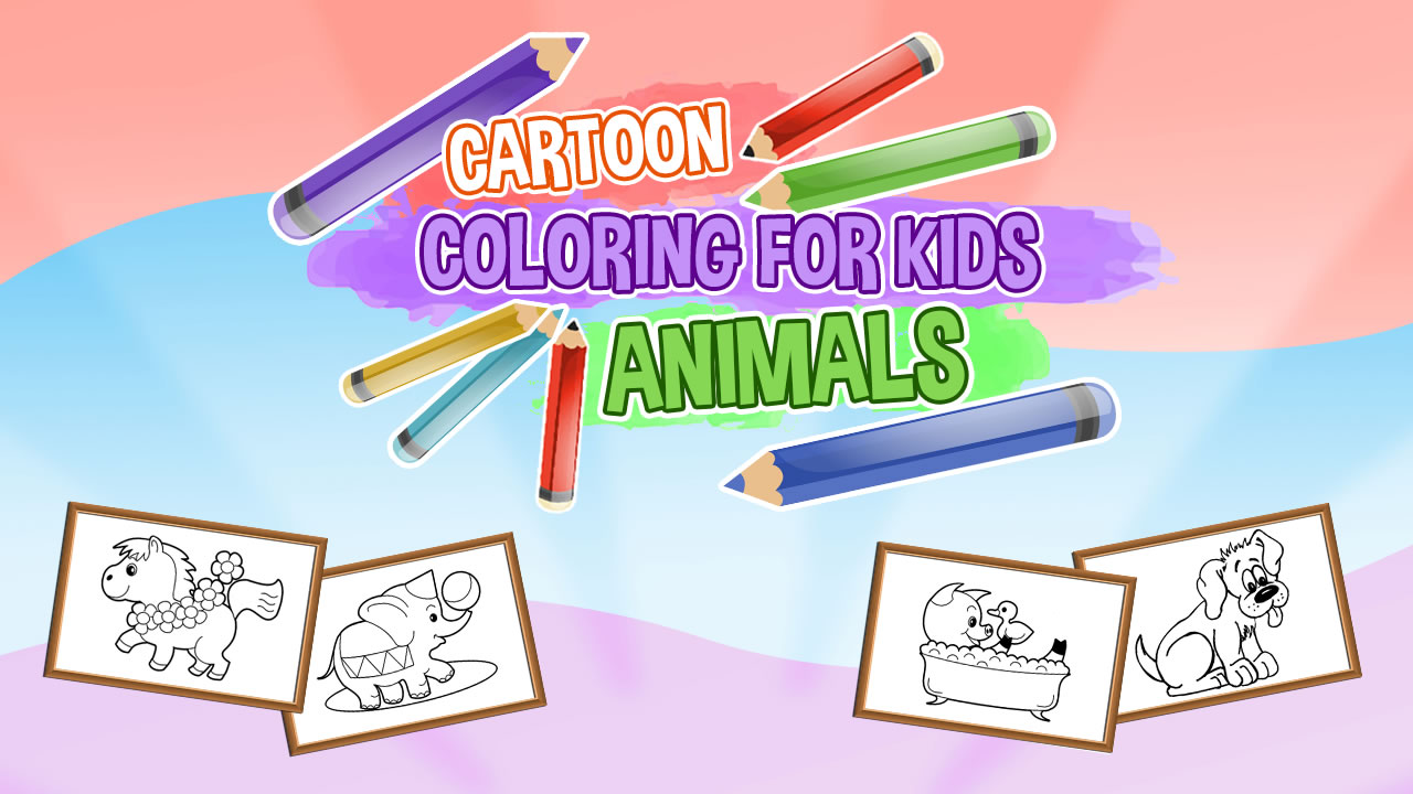 Image Cartoon Coloring for Kids Animals