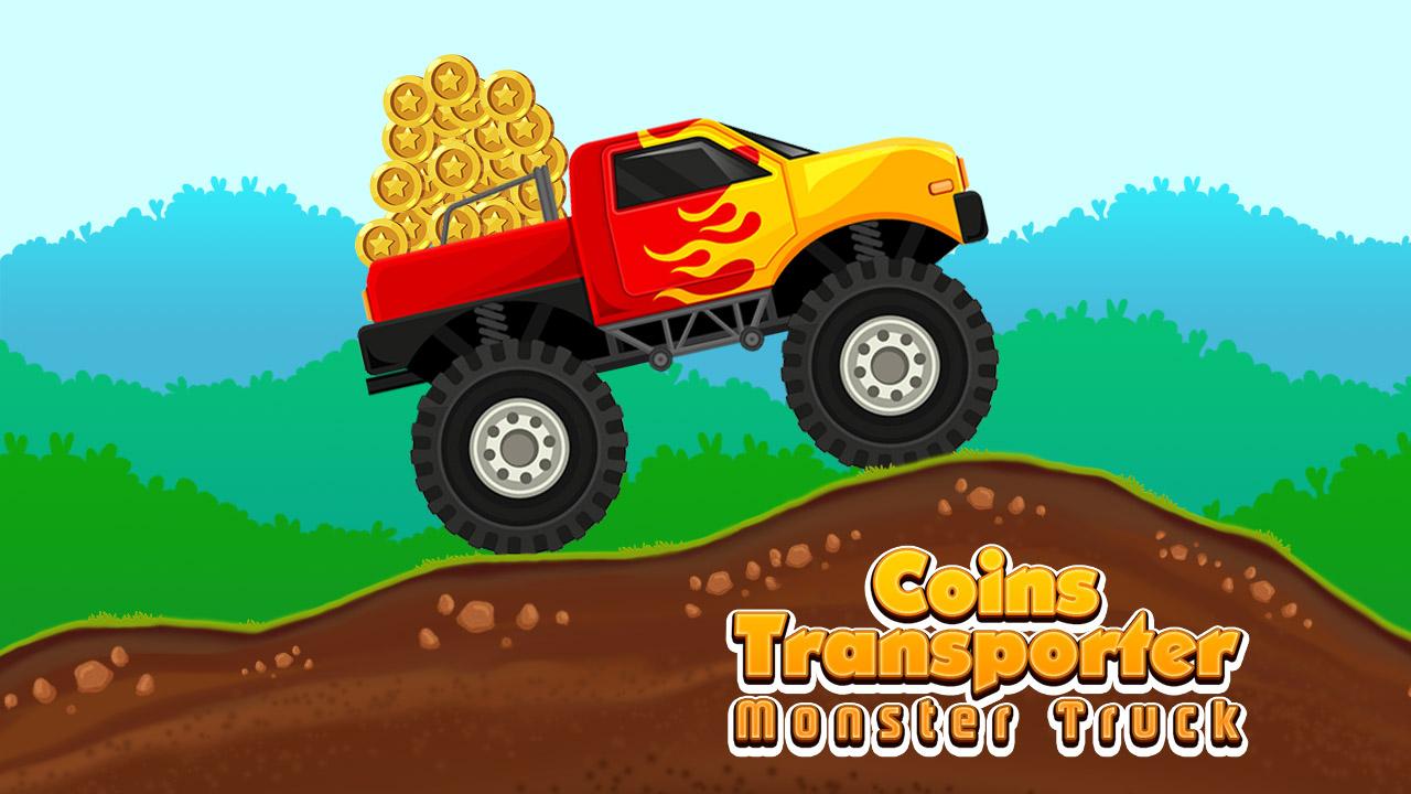 Image Coins Transporter Monster Truck