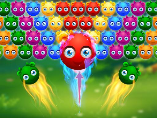 Image Cute Monster Bubble Shooter