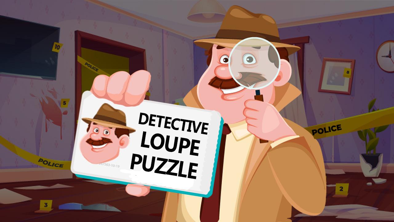 Image Detective Loupe Puzzle
