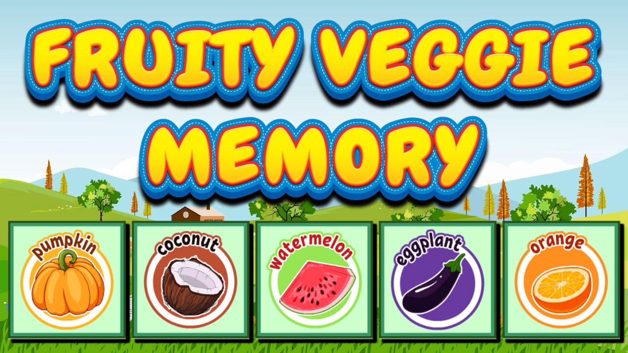 Image Fruity Veggie Memory