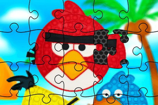 Image Funny Birds Pop It Jigsaw