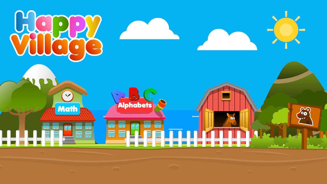 Image Happy Village Toddlers & Kids Educational Games
