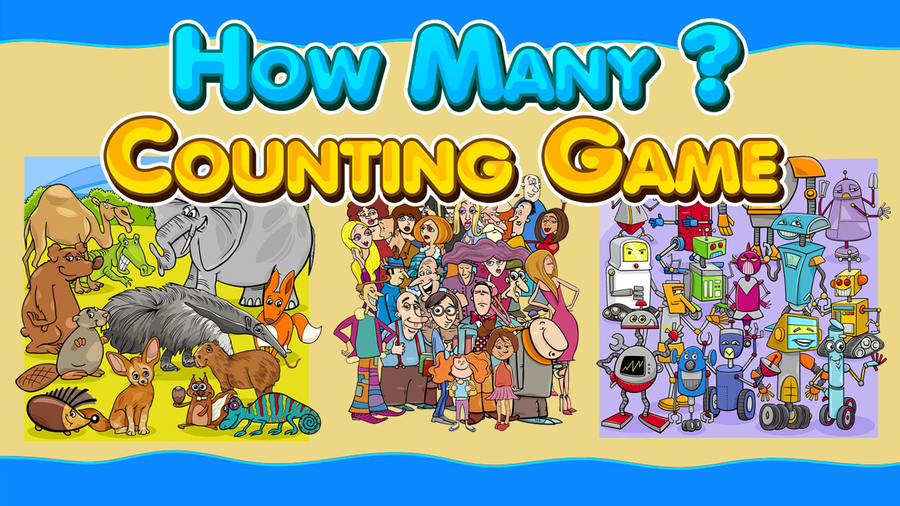 Image How Many Counting Game for Kids