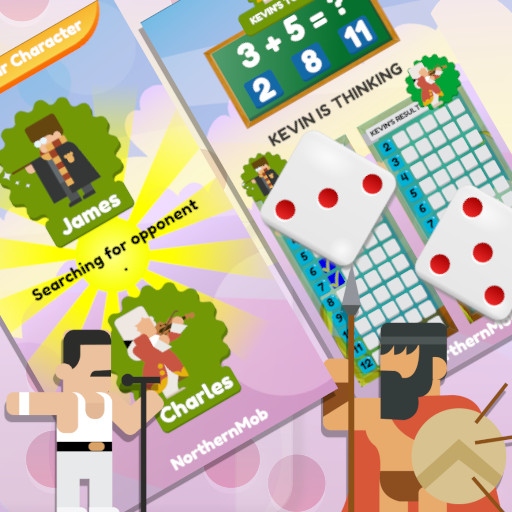 Image Math And Dice Kids Educational Game