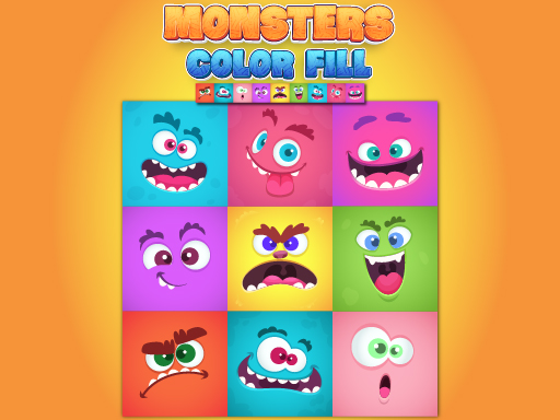 Image Monsters Color Fill
