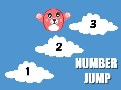 Image Number Jump Kids Educational Game