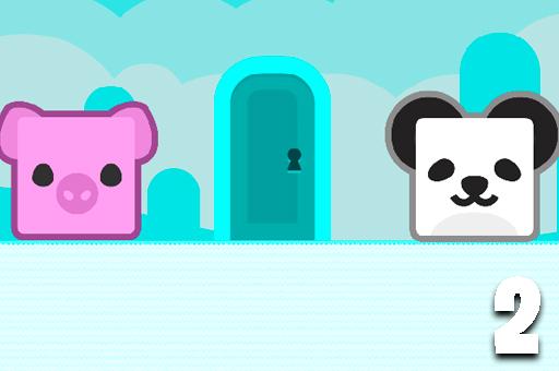 Image Panda Escape With Piggy 2