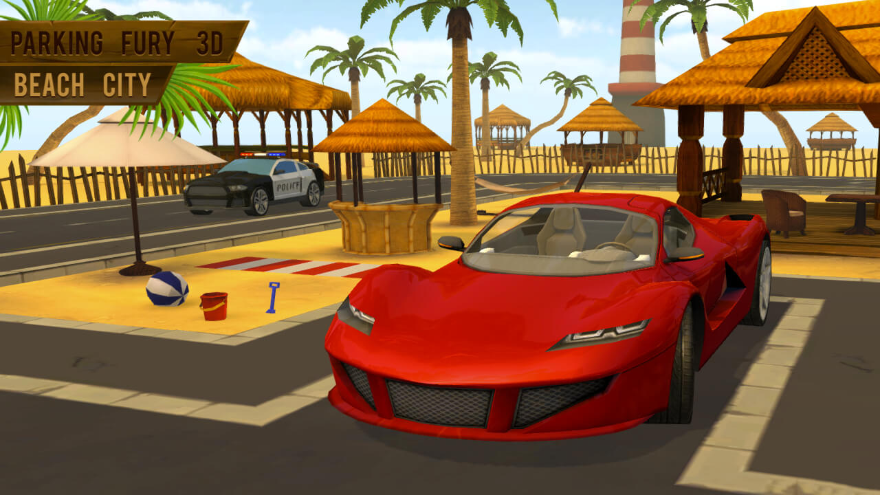 Image Parking Fury 3D: Beach City