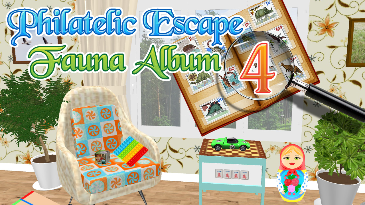 Image Philatelic Escape Fauna Album 4