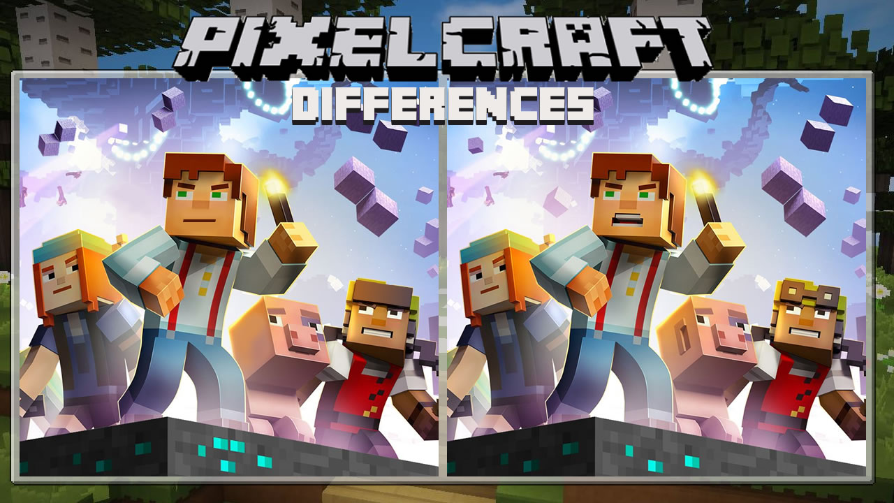 Image Pixelcraft Differences