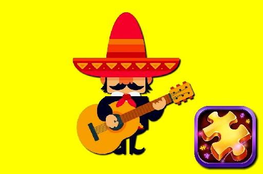 Image Puzzle Guitar