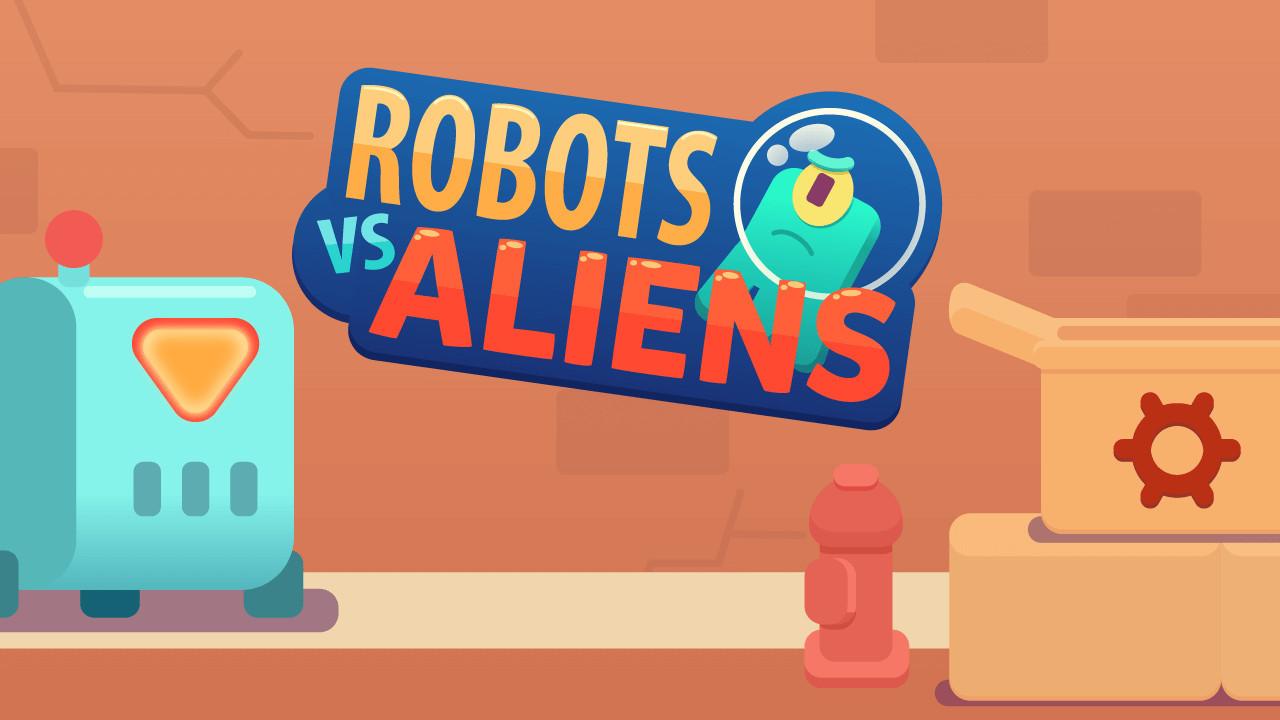 Image Robots vs Aliens