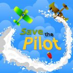 Save The Pilot Airplane HTML5 Shooter Game