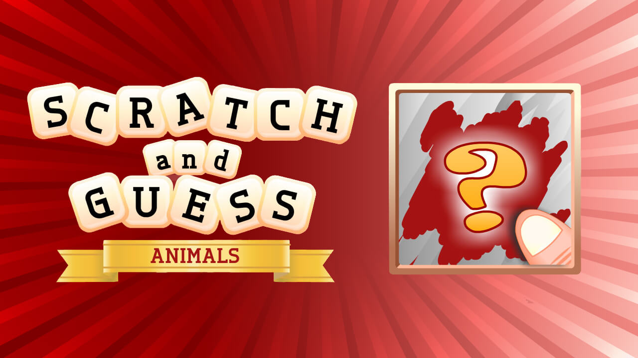 Image Scratch & Guess Animals