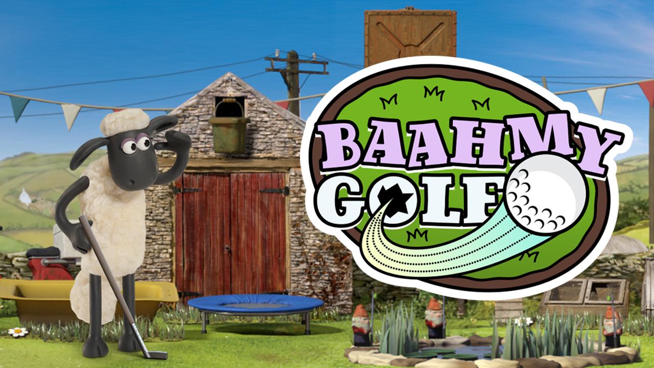Image Shaun The Sheep Baahmy Golf