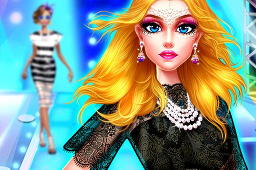 Image Supermodel Makeover Glam Dress up Make up