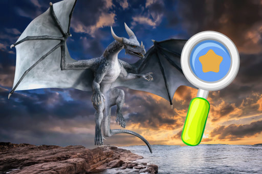 Image World of Dragons Hidden Stars