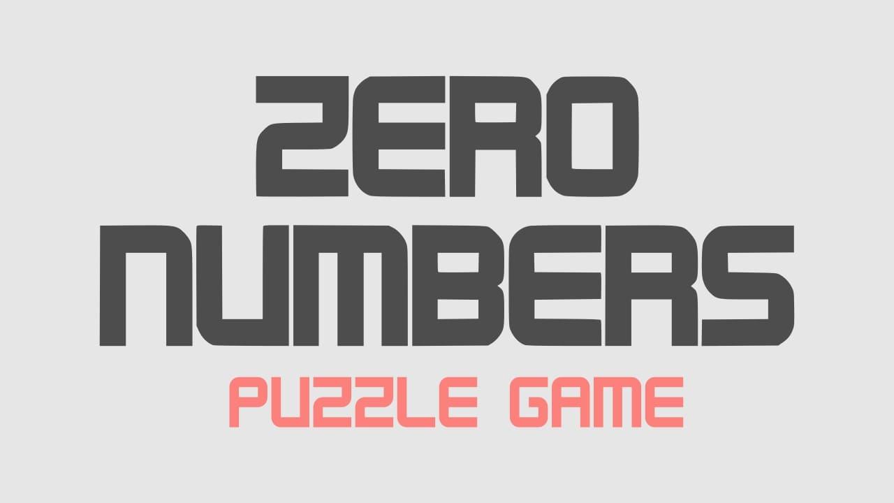 Image Zero Numbers