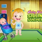 Baby Hazel Sibling Surprise