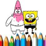 BTS Sponge Bob Coloring