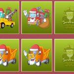 Christmas Trucks Memory
