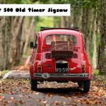 Fiat 500 Old Timer Jigsaw