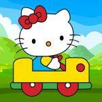 Hello Kitty Car Jigsaw