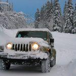 Offroad Snow Jeep Passenger Mountain Uphill Drivin