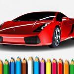 Racing Cars Coloring