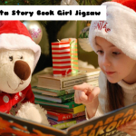 Santa Story Book Girl Jigsaw