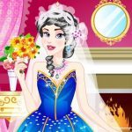 Sleeping Princess Wedding Dress up