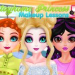 Stayhome Princess Makeup Lessons