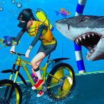 Underwater Bicycle Racing